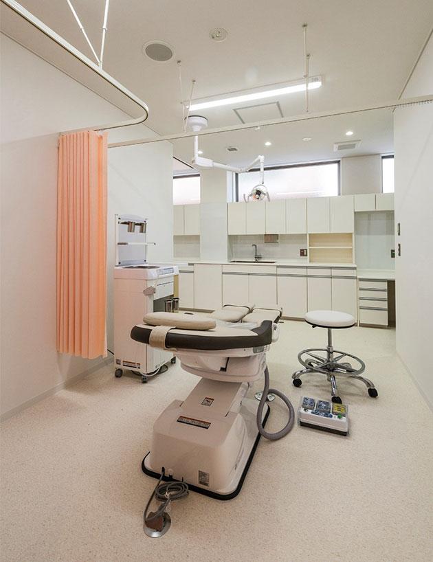 内診室(含/超音波検査)