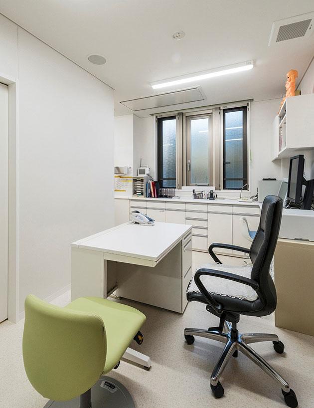 2階診察室/西山幸男名誉院長